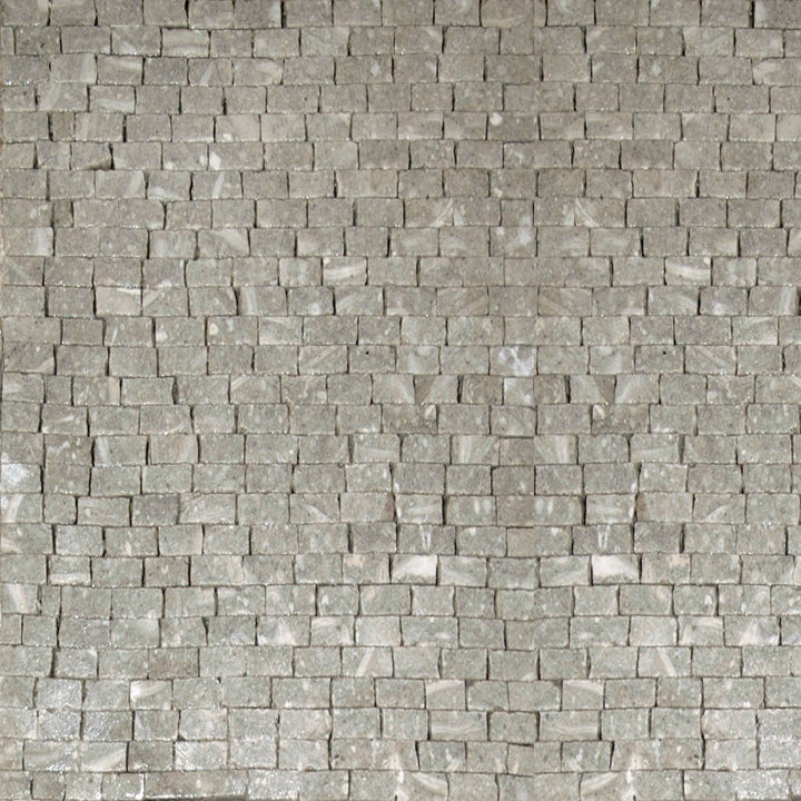 Mosaic Marble Sheet - Fossil Green