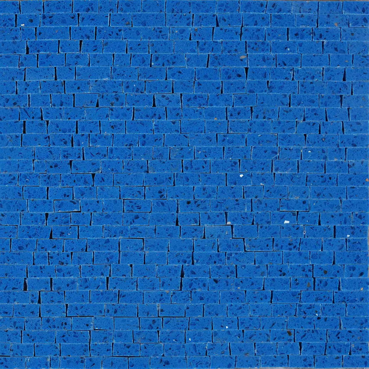 Mosaic Quartz Sheet- Prisma Blue