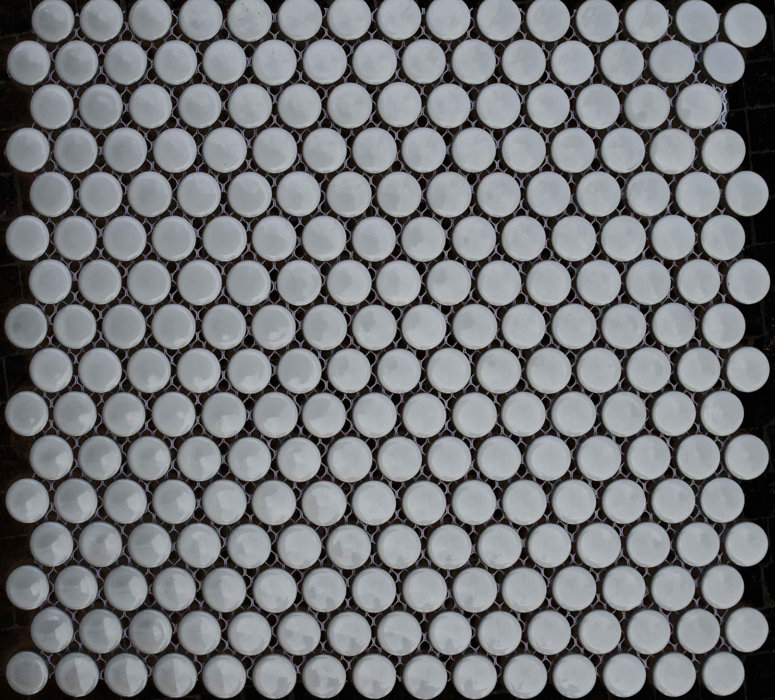Glass Mosaic Tile Gingham Pic