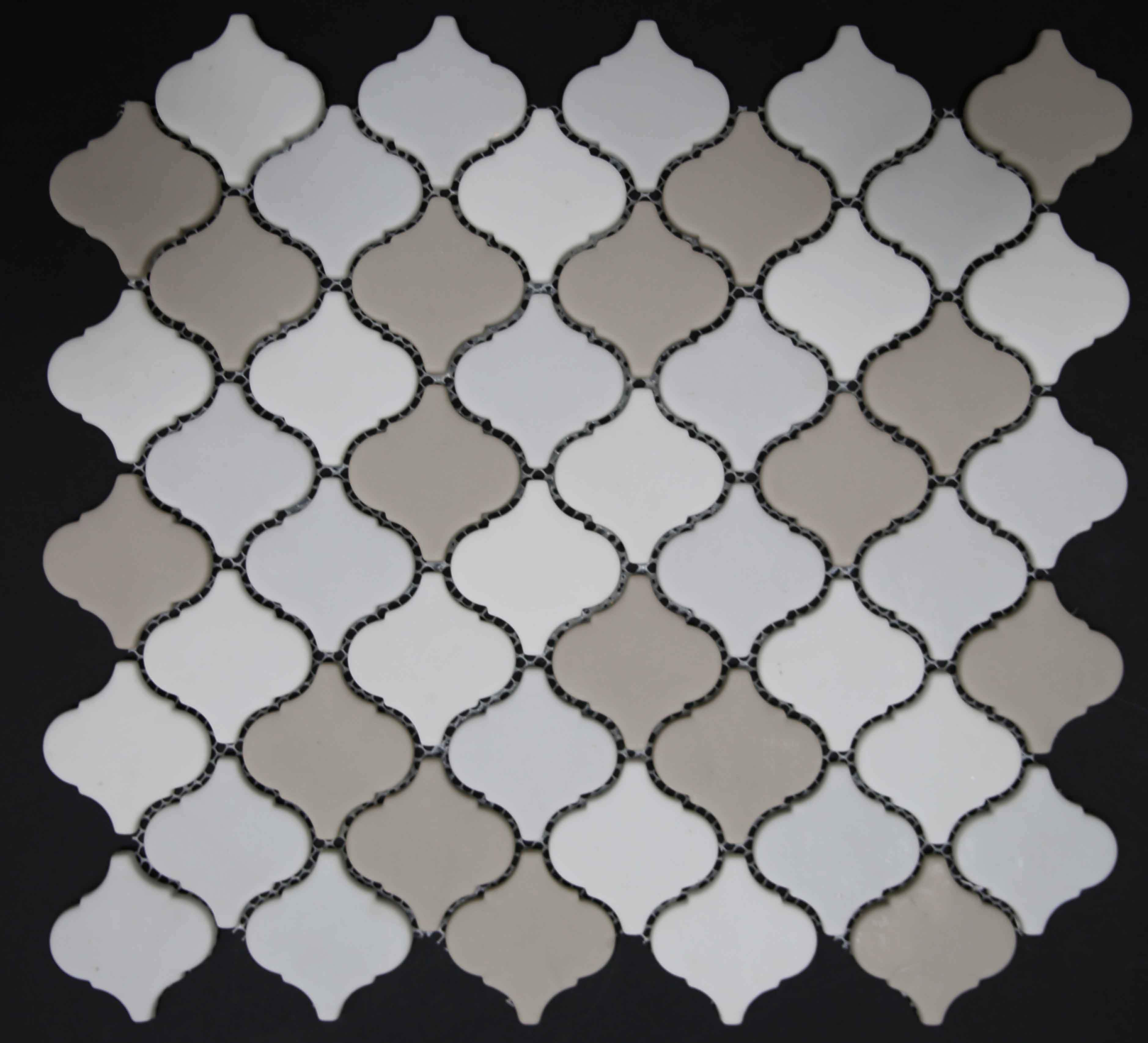Marble Mosaic Tile - Camouflage