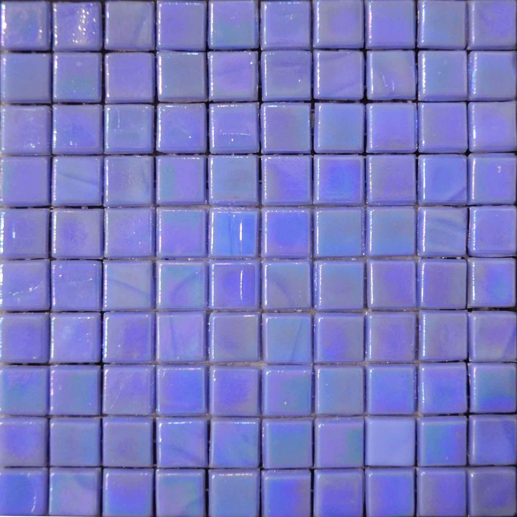 Iridescent Mosaic Sheet Purple Pic