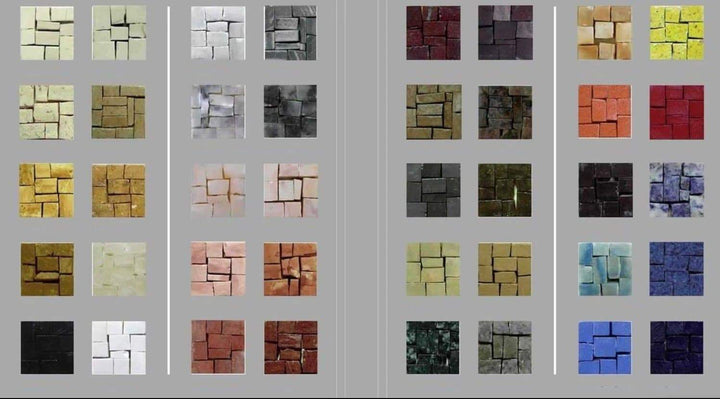 Color Chart Mosaic
