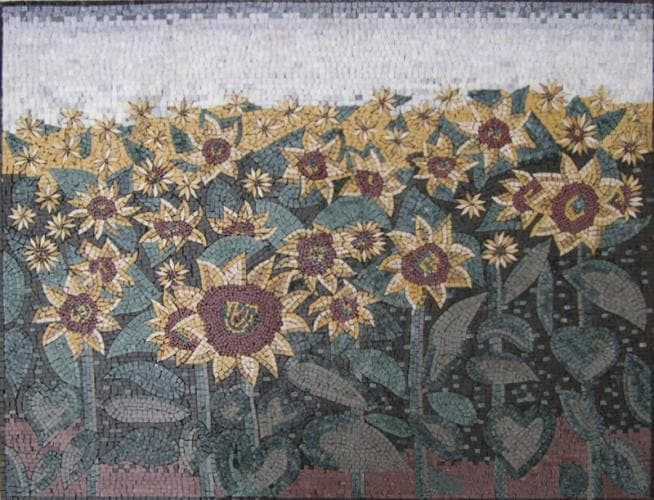 Mosaic Art - Sunflower Land