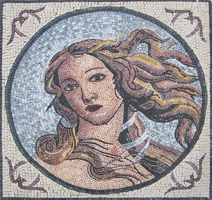 Venus Roman Mosaic Patterns Pic