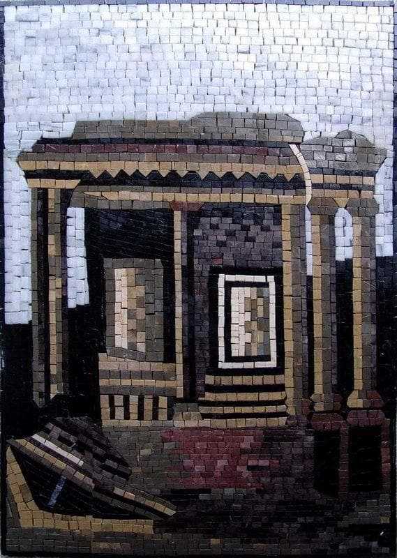 Custom Mosaics - Ruins of the Roman Empire