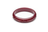 Midi Golden Burgundy Fakelite Duchess Bangle