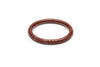 Narrow Tobacco Heavy Carve Fakelite Bangle