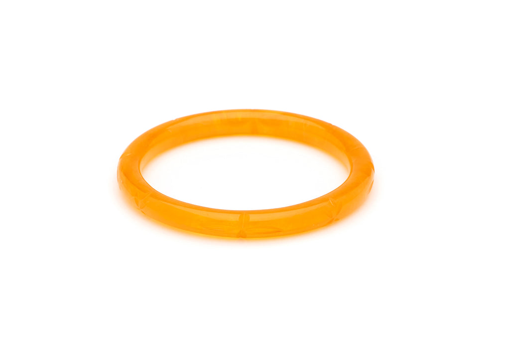 Narrow Butterscotch Fakelite Bangle