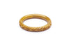 Banoffee Fakelite Maiden Bangle