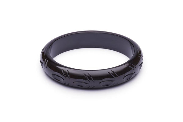 Midi Black Fakelite Fakelite Duchess Bangle