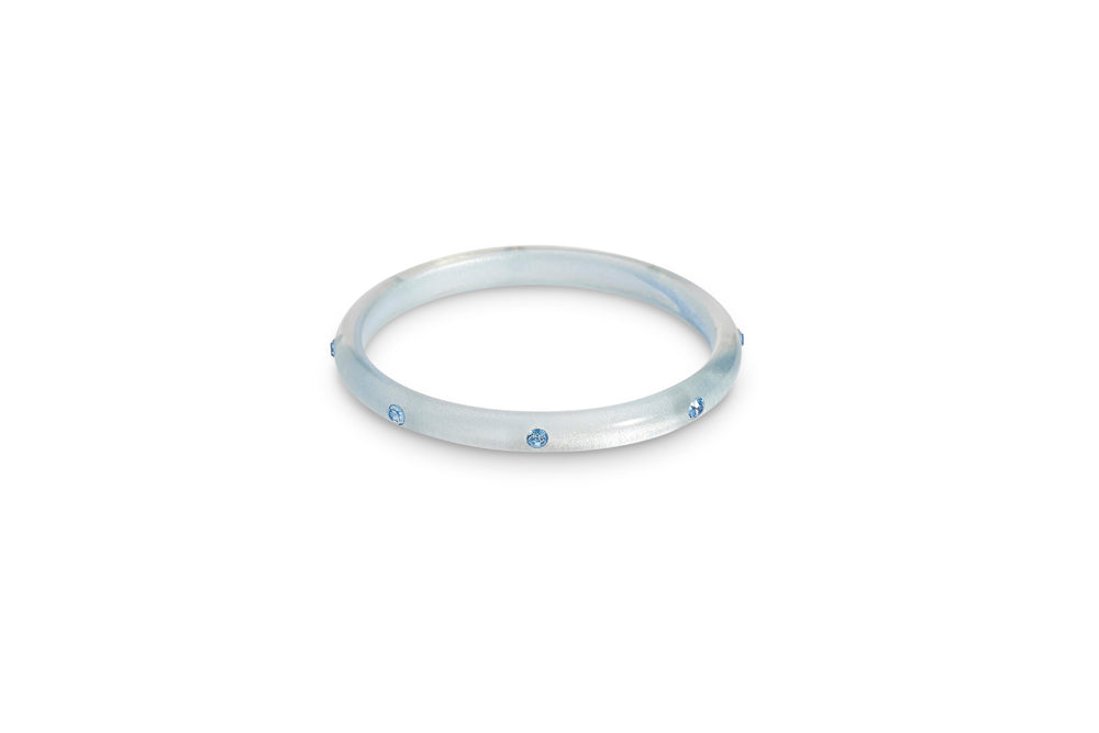 Baby Blue Moonglow Maiden Bangle