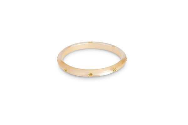 Champagne Moonglow Maiden Bangle