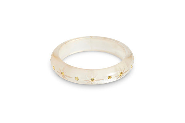 Midi Champagne Moonglow Starburst Bangle
