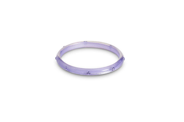 Lavender Moonglow Maiden Bangle