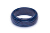 Wide Navy Fakelite Duchess Bangle