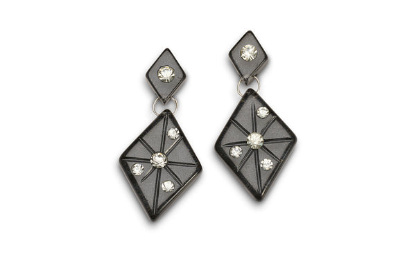 Noire Moonglow Starburst Earrings