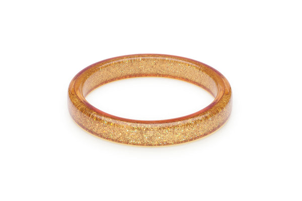 Pale Gold Glitter Duchess Bangle