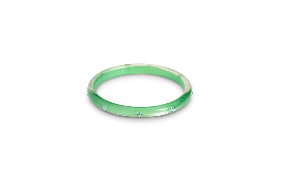 Seafoam Moonglow Maiden Bangle