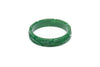 1940s style forest green heavy carve midi bangle