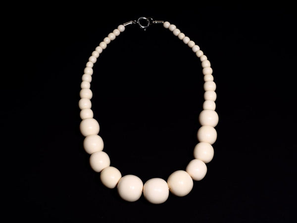Ivory Bead Necklace