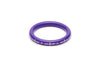 Splendette Narrow Violet Carved Maiden Bangle