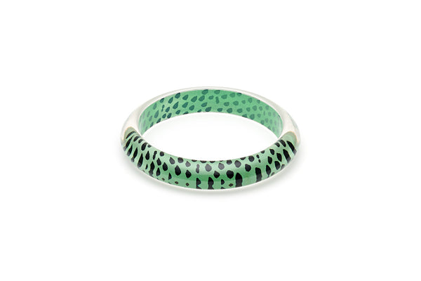 Mint Leopard Maiden Bangle