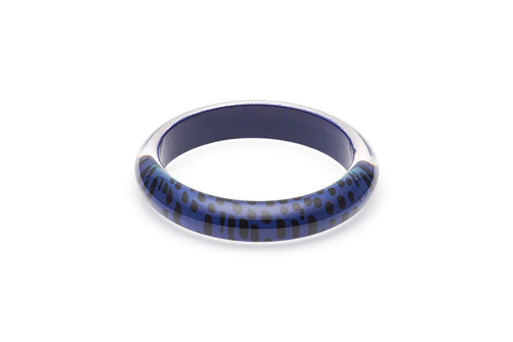 Indigo Leopard Duchess Bangle