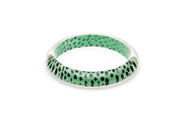 Mint Leopard Duchess Bangle