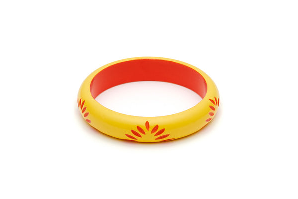 Splendette Midi Sunrise Carved Bangle