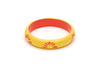 Splendette Wide Sunrise Carved Duchess Bangle