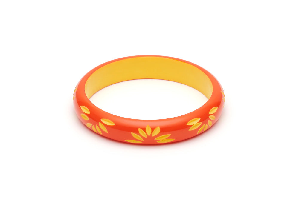 Splendette Midi Sunset Carved Duchess Bangle