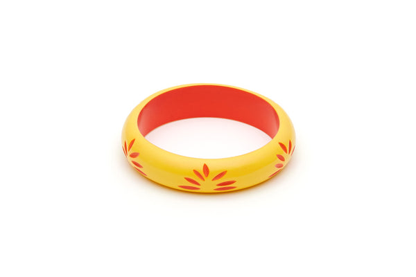 Splendette Midi Sunrise Carved Maiden Bangle