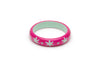 Splendette Midi Flamingo Carved Maiden Bangle