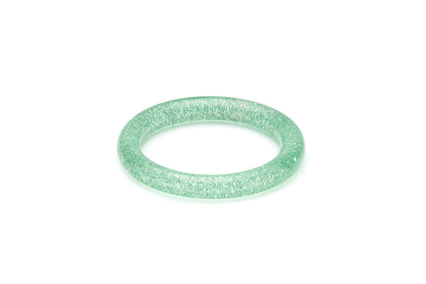 Narrow Green Lagoon Glitter Maiden Bangle