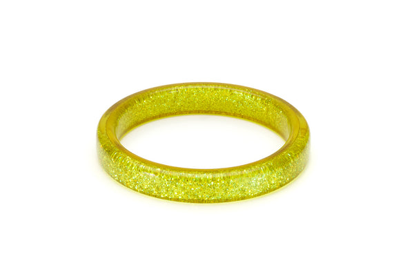 Chartreuse Glitter Duchess Bangle