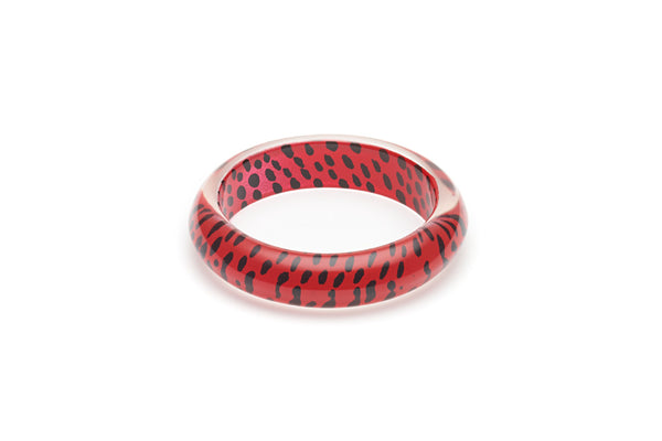Red Leopard Maiden Bangle