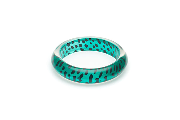 Jade Leopard Maiden Bangle