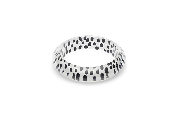 White Leopard Maiden Bangle