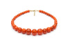 Fox Fakelite Bead Necklace