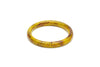 Handmade style narrow bangle in catkin
