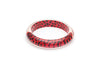 Red Leopard Bangle