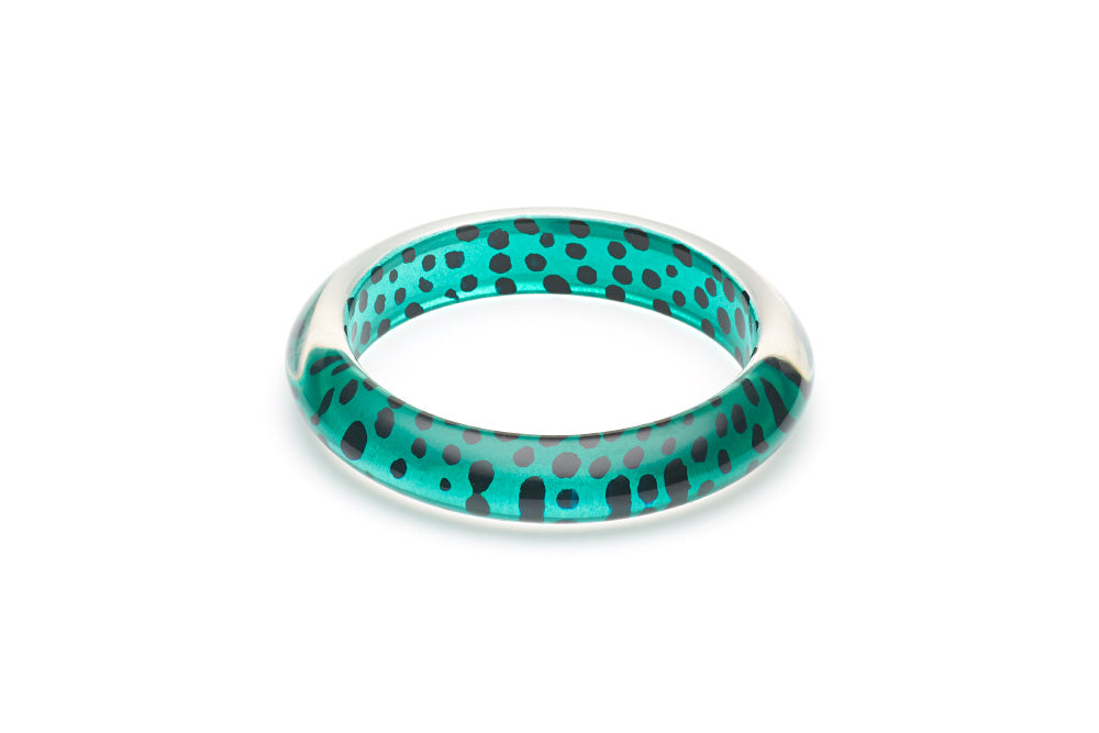 Jade Leopard Bangle