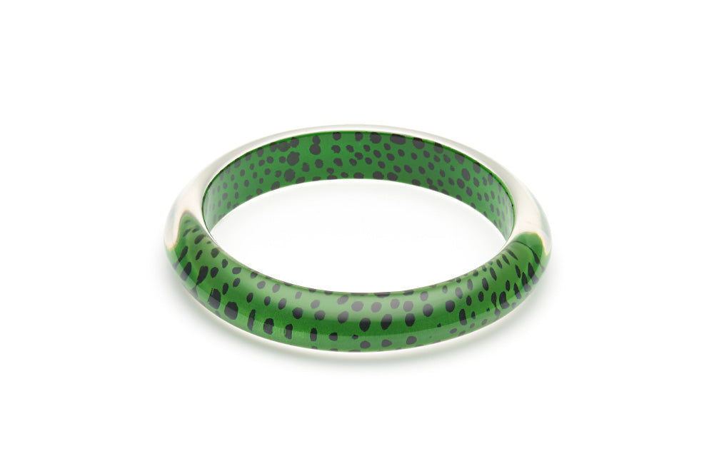 Green Leopard Duchess Bangle