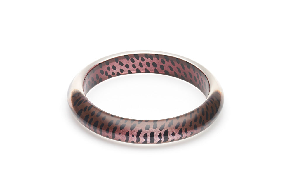 Brown Leopard Duchess Bangle
