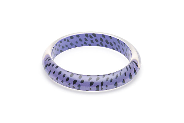 Grape Leopard Duchess Bangle