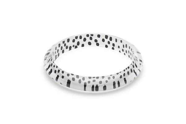 White Leopard Duchess Bangle