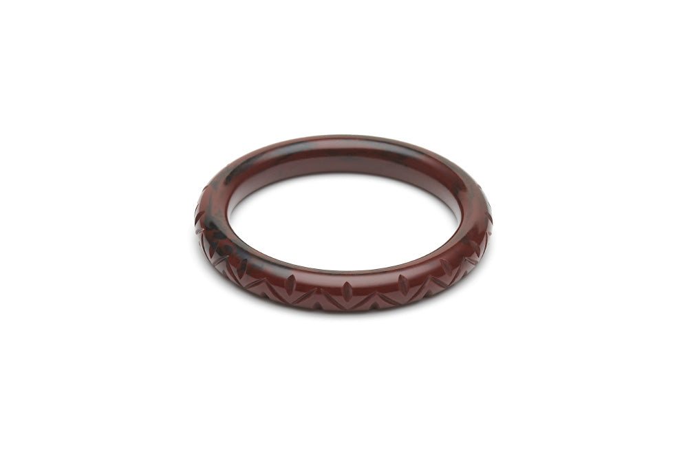 Fakelite narrow maiden bangle in mouse