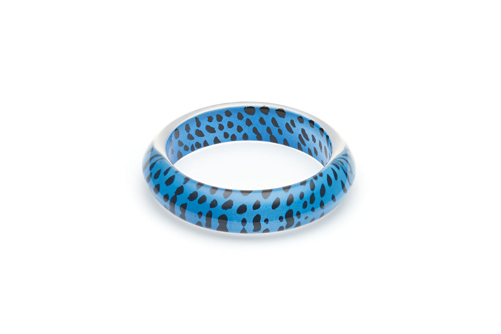 Blue Leopard Maiden Bangle