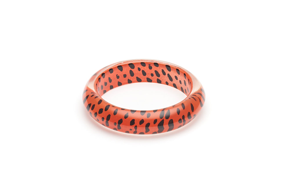 Orange Leopard Maiden Bangle
