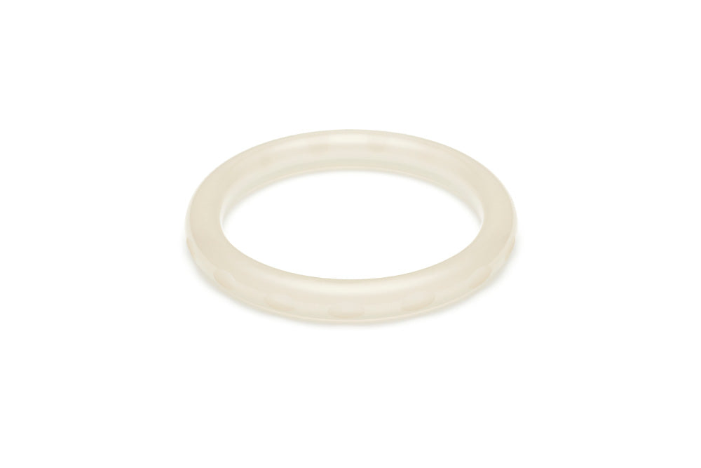 Narrow Coconut Fakelite Bangle